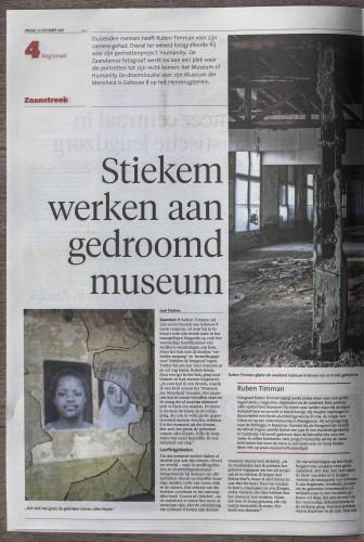 NHD artikel Museum of Humanity 22122017 - pag. 1