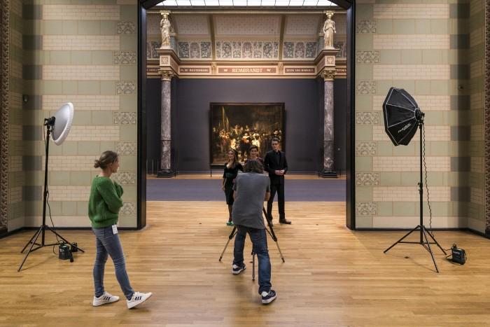 Shoot met Rembrandt