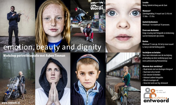 emotion, beauty and dignity